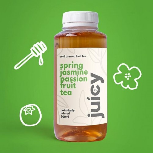 JUICY FOLKS, SPRING JASMINE PASSIONFRUIT TEA - 300ML