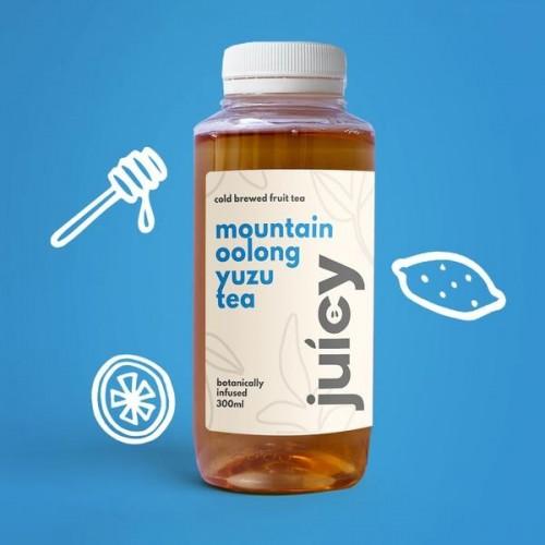 JUICY FOLKS, MOUNTAIN OOLONG YUZU TEA - 300ML